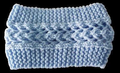Chunky Headband - Blue