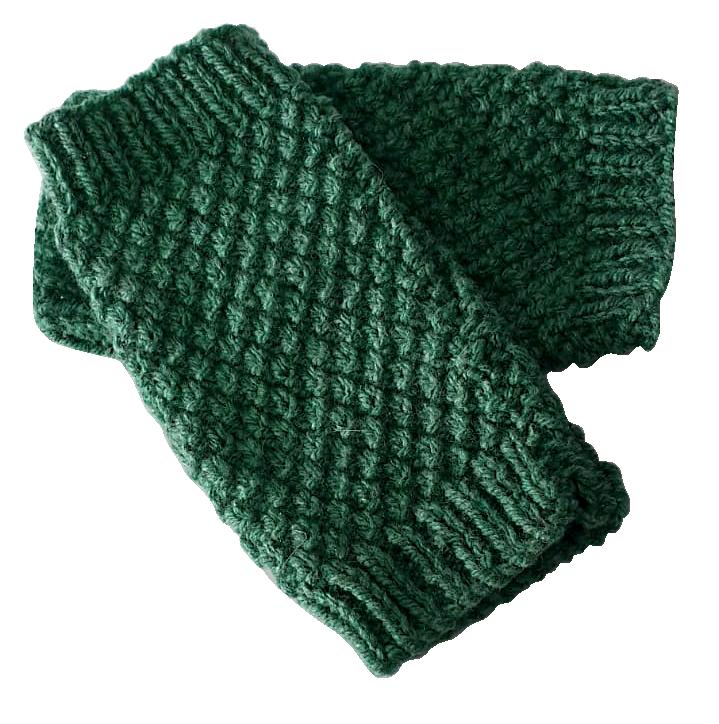 Fingerless Gloves - Knitted