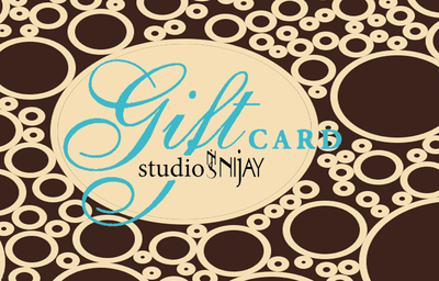 Studio NiJay Gift Card