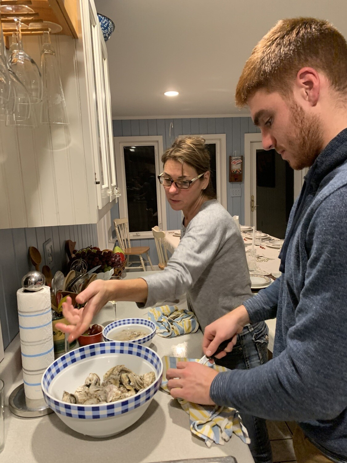 Thanksgiving Oysters - Three dozen shipped fresh on harvest day