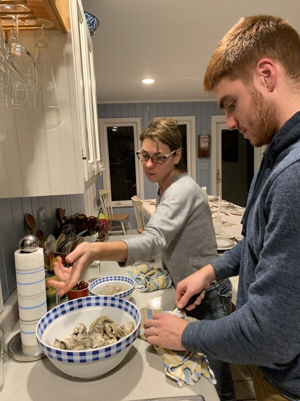 Thanksgiving Oysters - Three dozen shipped fresh on harvest day