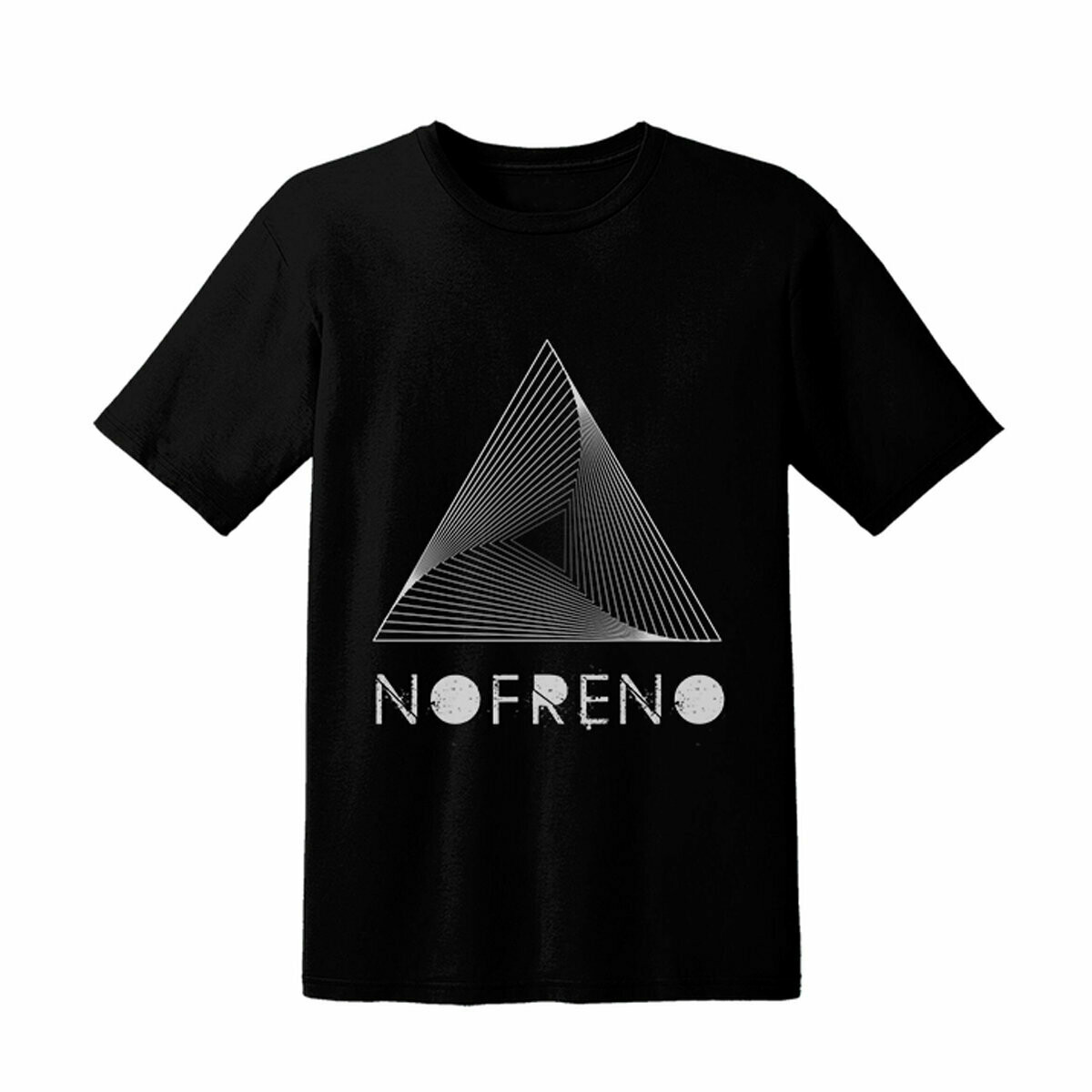 Black T-Shirt Nofreno & Triangle