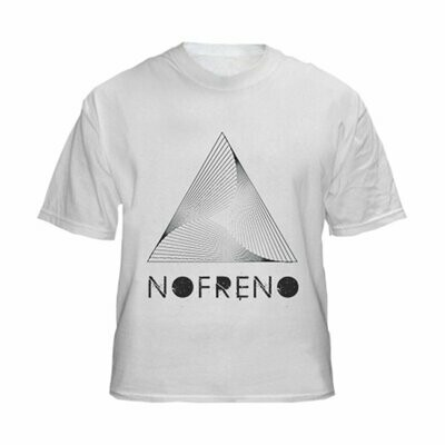 White T-Shirt Nofreno & Triangle