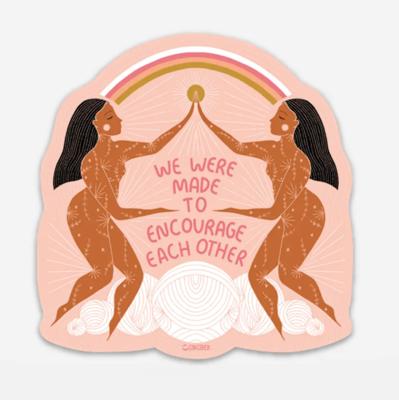 Encourage Sticker