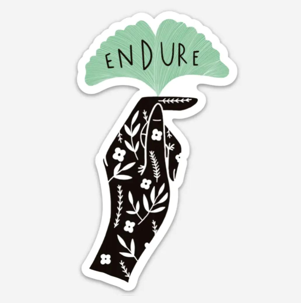 Endure Sticker