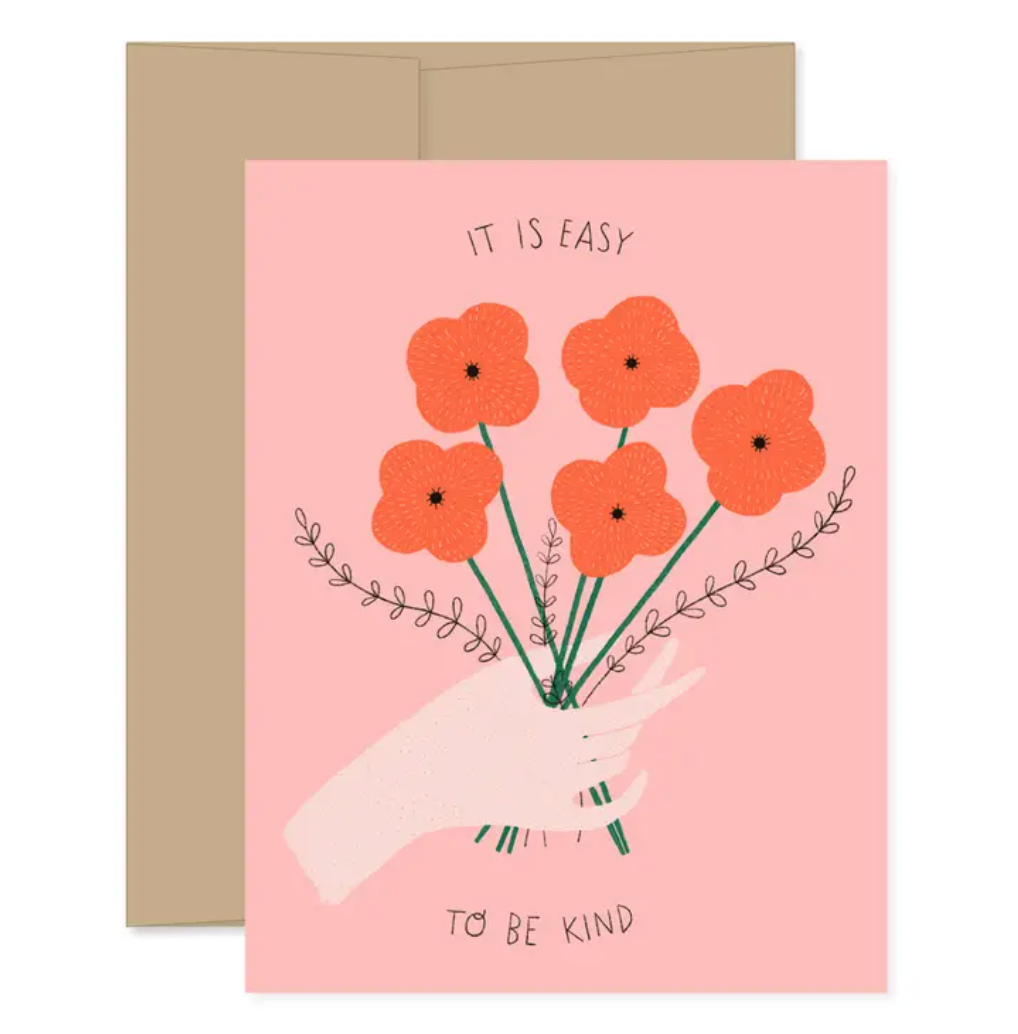 Easy To Be Kind Card