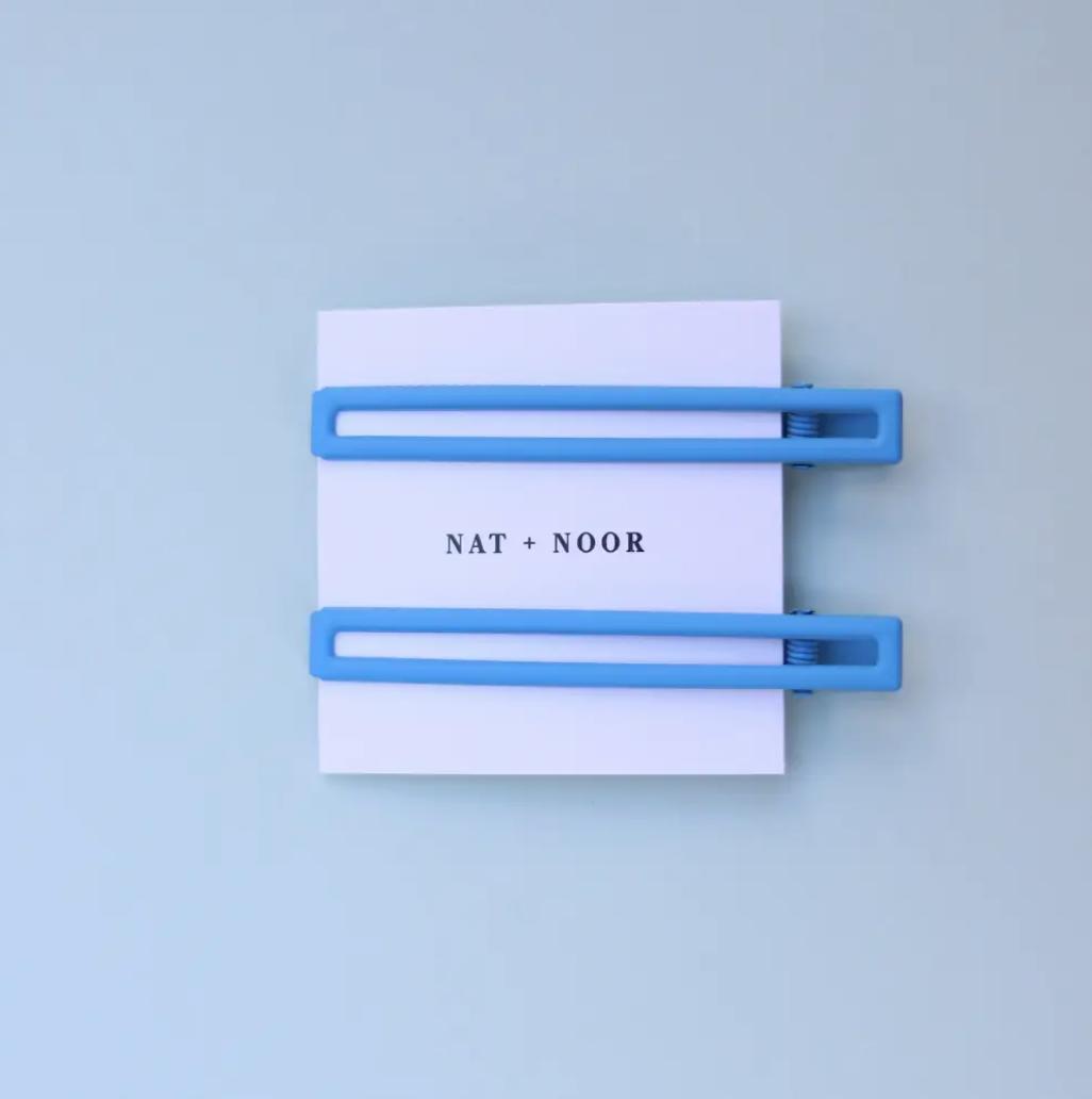 Leia In Blue Hair Clip Set