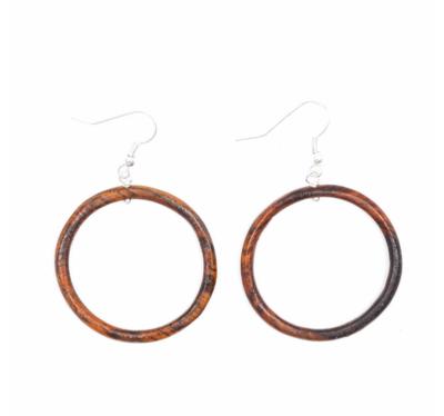 Wood Earring Hoop
