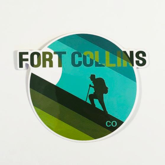 FC Hiker Sticker