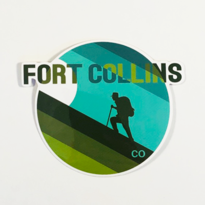 FC Hiker Sticker