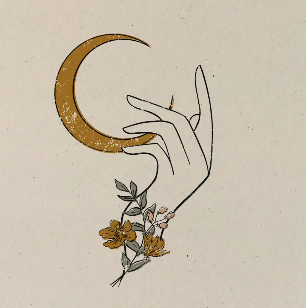 Moonflower Print CBKC