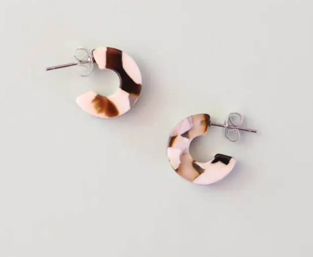 Mali In Coco Cream Earrings
