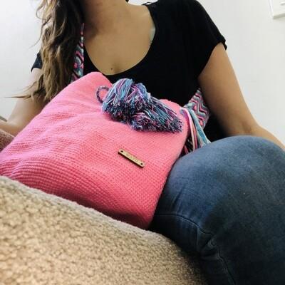 Pink Wayuu bag