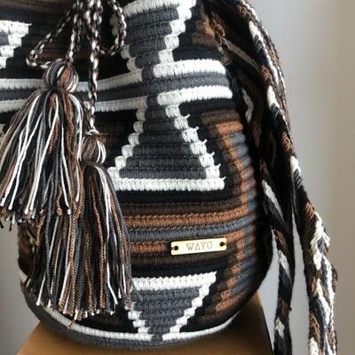 Brown Wayuu bag