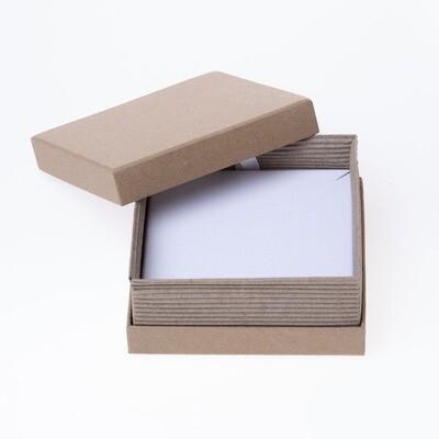 Box Square Kraft 90x90mm
