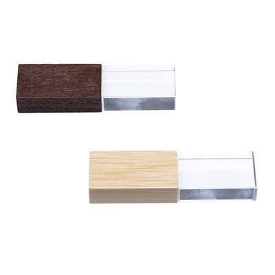 Wooden Crystal USB: PK 25