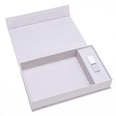 PRE-ORDER Linen Print & USB box