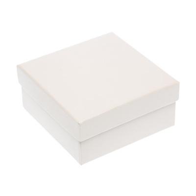 Box Square White 87x87mm