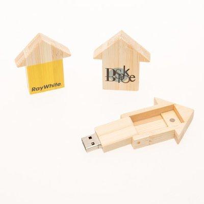 USB Arrow/House Light 4GB