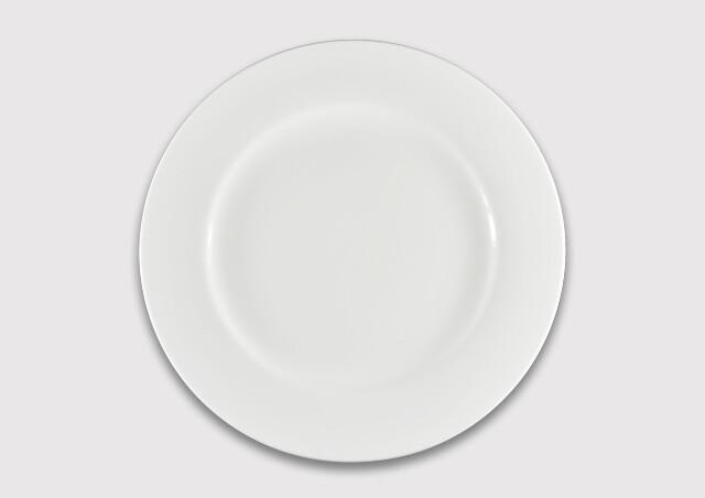 Тарелка  круглая 25 см.