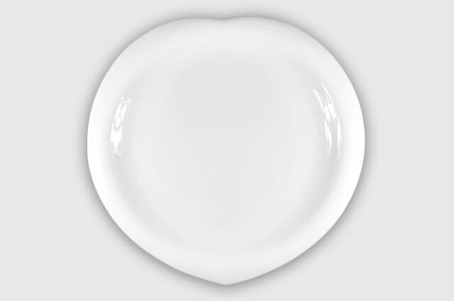 Тарелка  листок 30 см.