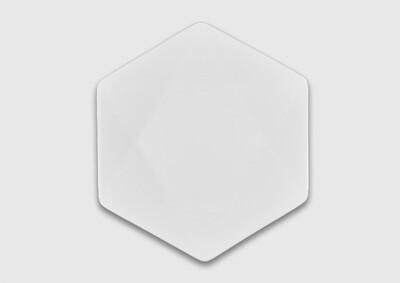 Тарелка шестиугольная 20 см.