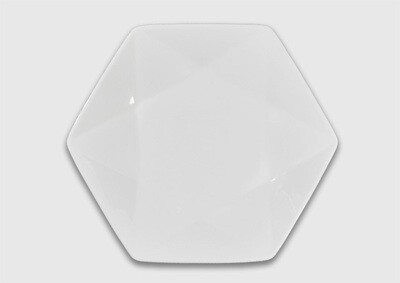 Тарелка шестиугольная 25 см.