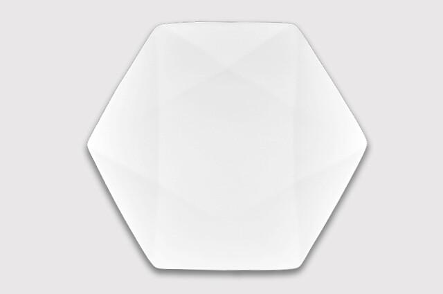 Тарелка шестиугольная 30 см.