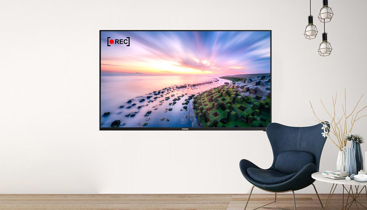 KONIC 55 4K LED TV 3480*2160 HDMIX3 USB FREEVIEW PVR