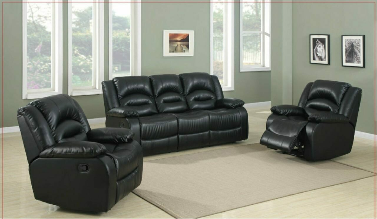 Manual Recliner Lounge Suite