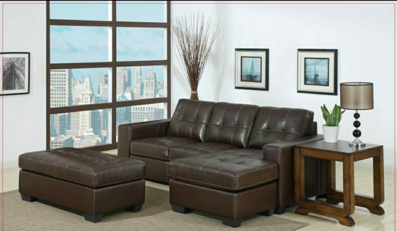 Ella Corner Lounge Suite with Ottoman