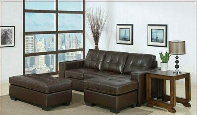 Ella Corner Lounge Suite with Ottoman