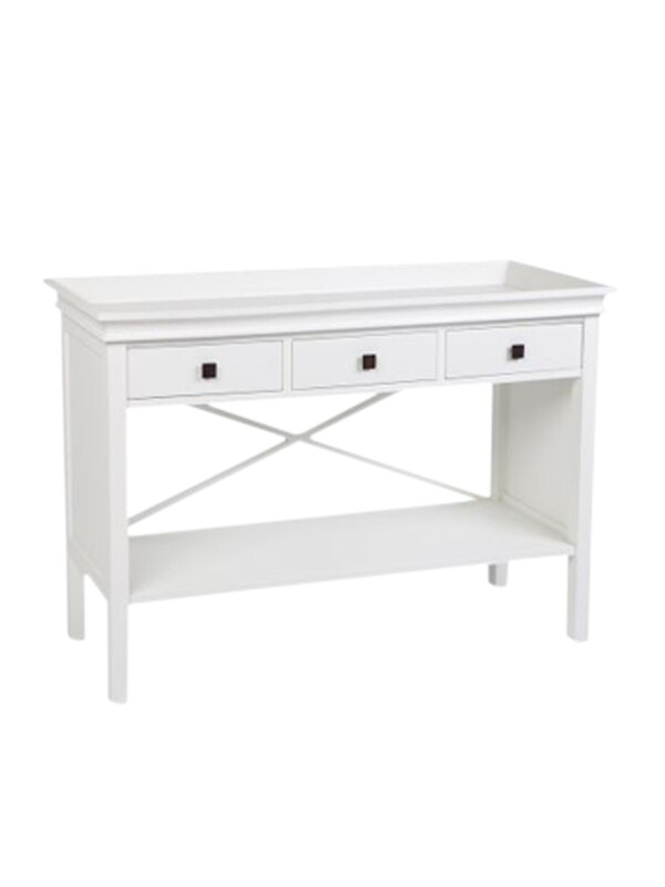 White Console Table Island Life