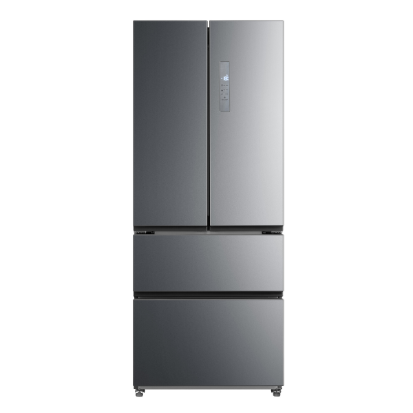 Midea 462L French Door Fridge Freezer Stainless Steel