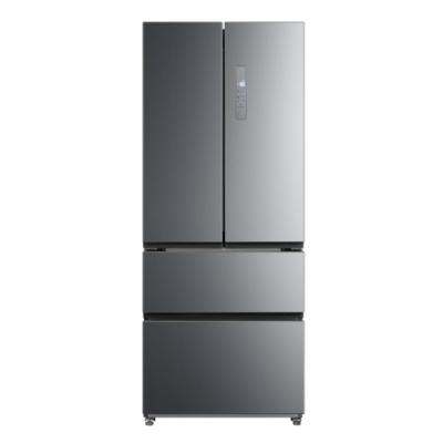 Midea 462L French Door Fridge Freezer Stainless Steel
