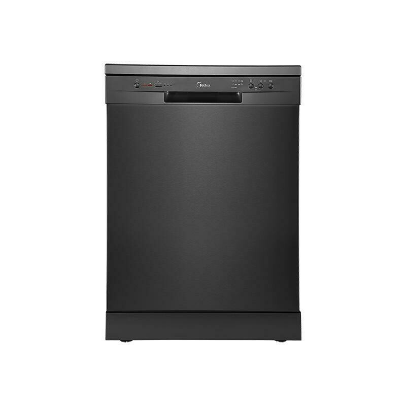 Midea14 Place Setting Dishwasher Black Steel JHDW143BK