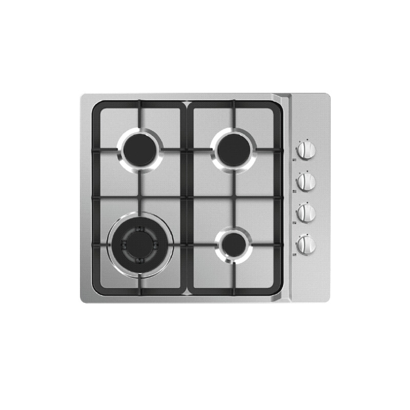 Midea 60cm Gas Cooktop Stainless Steel 60G40ME403-SFT