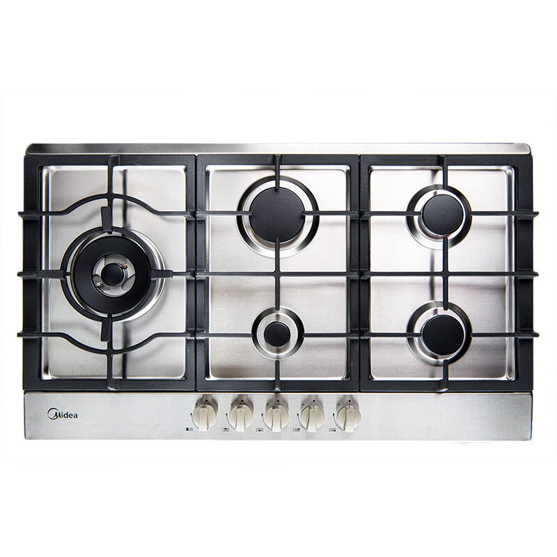 Midea 90cm Gas Cooktop Stainless Steel 90G50ME005-SFL