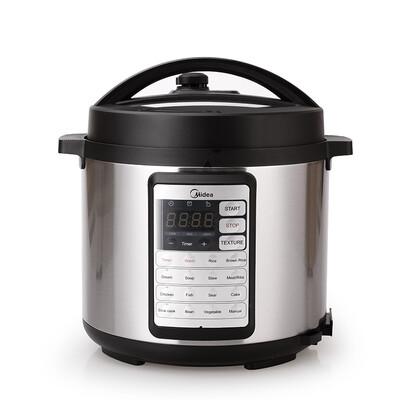 Midea 6L Pressure Cooker with Dual Inner Pot MY-CS6019WP