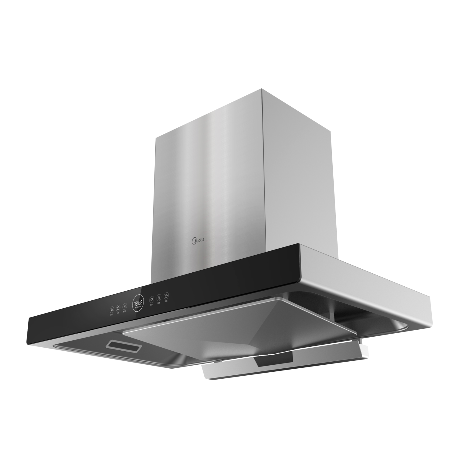 Midea T-Shape Rangehood -Steam Wash