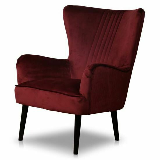 Astana Velvet Occasional Chair