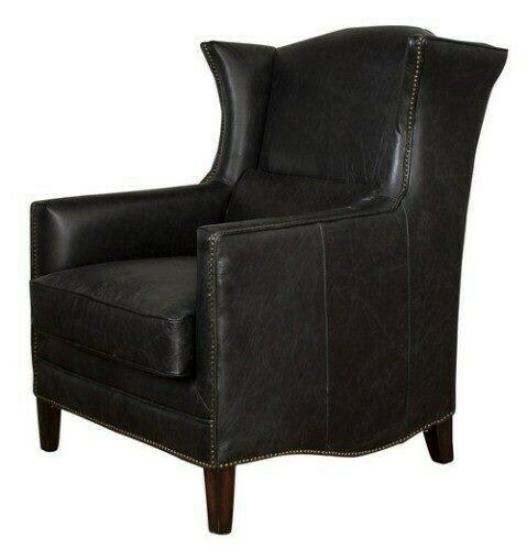 Wing Armchair Belon Black