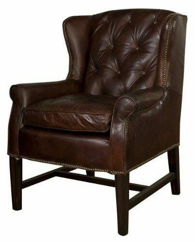 Clement Chair Vintage Cigar