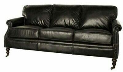 Winchester 3 Seater Belon Black