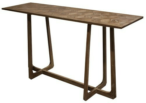 Milan Hall Table - Elm/Natural