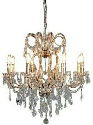 Chandelier Antique Silver
