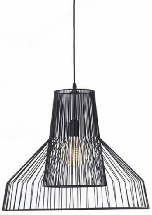 Metal Pendant Lamp Black