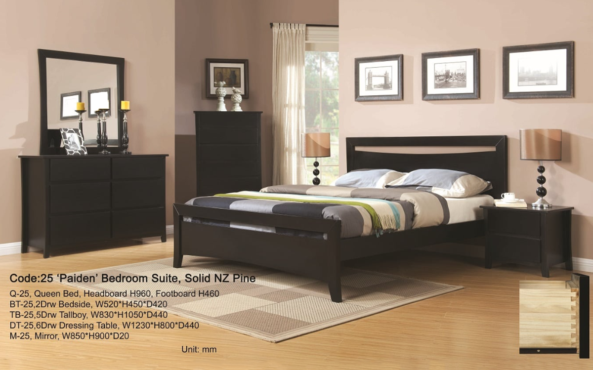 5Pcs Bedroom Suite Queen