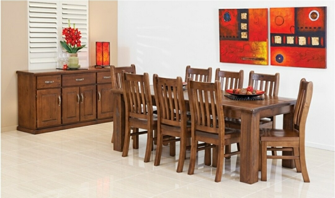 Mammoth Dining Suite 7Pcs