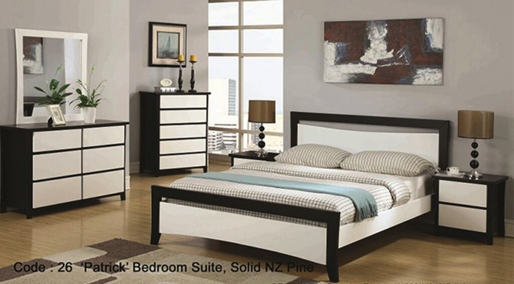 Patrick 5Pcs Bedroom Suite